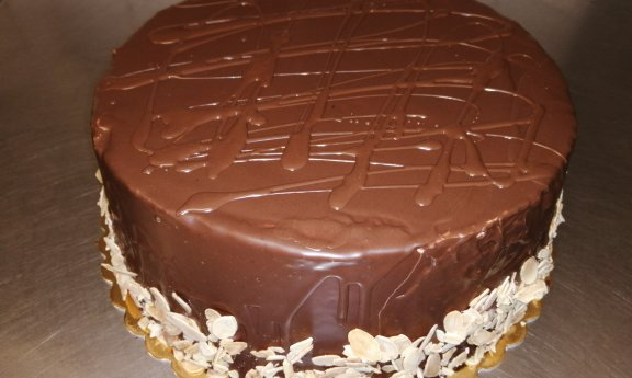 Dort mandlovo čokoládový
