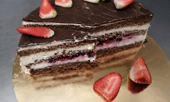 Tvarohový dort - 550,-Kč